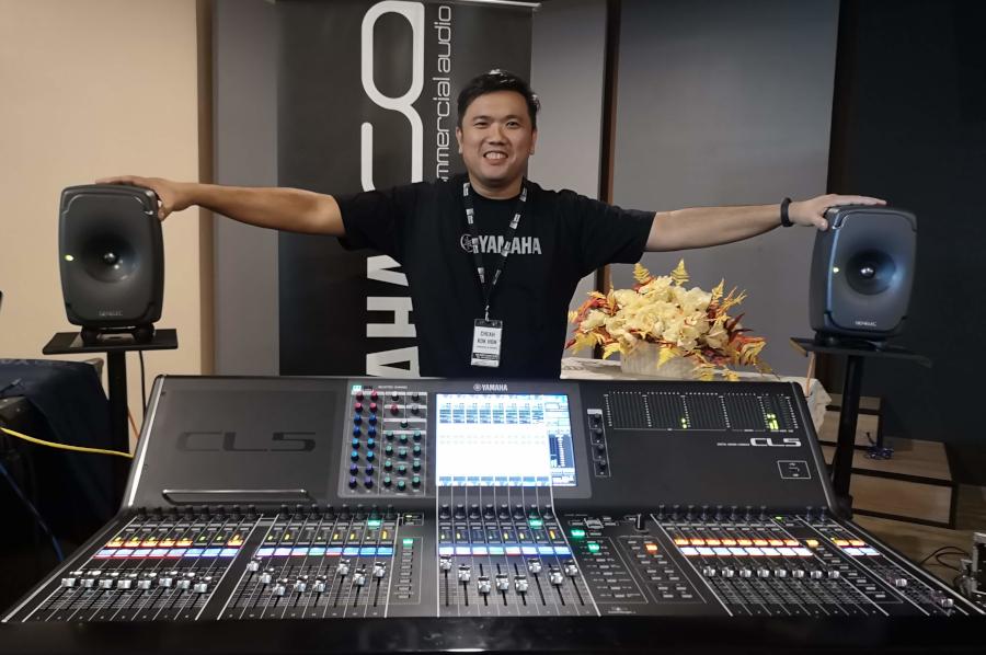 Audio Mission Facilitator Mr Cheah Kok Hon