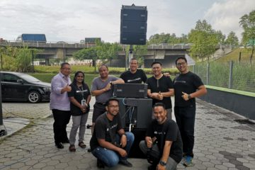 Soundline with Bronte Audio Solutions trainers